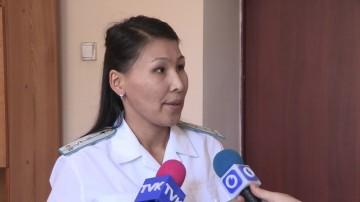 Помощник прокурора Абайского района Айжан Сатыбалдиева