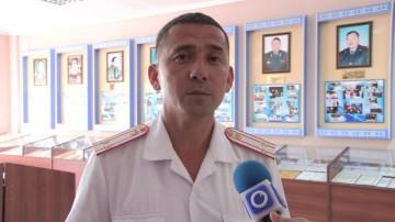 Под полицейской формой может скрываться и творческая личность. Сотрудник школы МВД Айболат Майков ко Дню казахстанской полиции даже сочинил стих о блюстителях порядка.