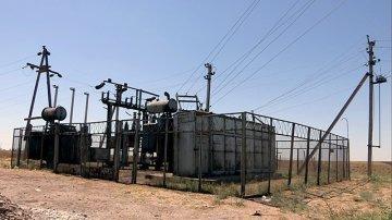 Из-за взрыва трансформатора Кайнар булак снова остался без света и воды