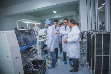 Во время рабочего визита руководителей управлений здравоохранения на завод ТОО «KAZMEDPRIBOR»