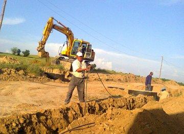 Начато строительство водопровода в селах Сайрам, Исфиджаб, Кызылсу и Бадам