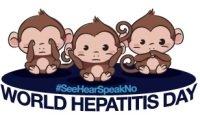 Символ всемирного дня борьбы с гепатитом