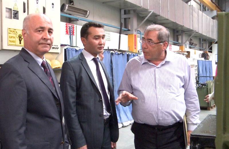 В рамках 5-дневного визита предприниматели посетили промышленные центры - города Измир и Дэнизли