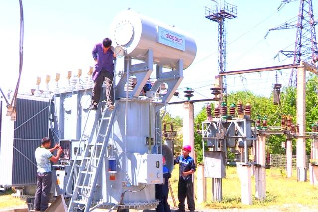 В Шымкенте проходит модернизация крупных городских подстанций