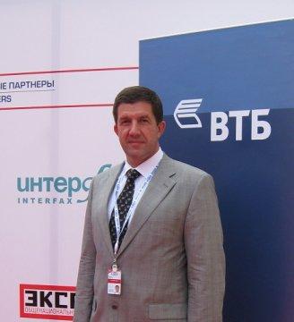 Зампред правления ВТБ Михаил Осеевский. Фото пресс-службы ВТБ.