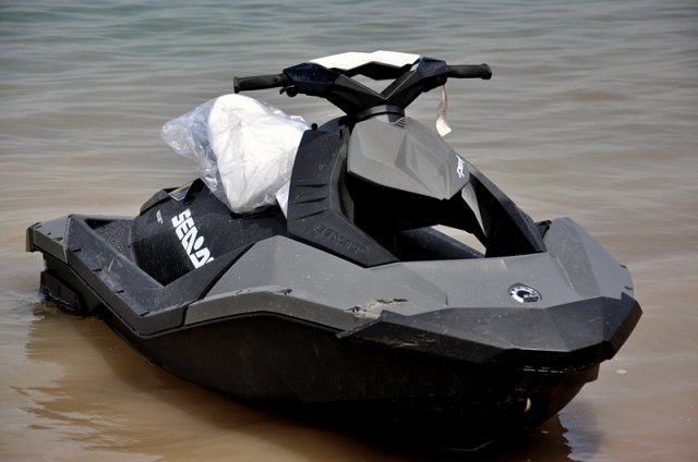 Новый гидроцикл  Spark бренда Sea-Doo от канадской BRP