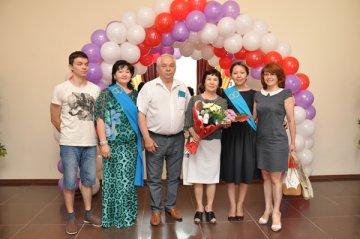 Регистрация «золотой свадьбы» шымкентской супружеской пары Видякиных – Людмилы и Вячеслава
