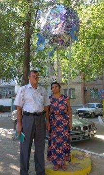 Галия Артыкбаева, домком дома №50, что в микрорайоне «Север»