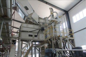 Новое качественное оборудование на заводе по переработке хлопка