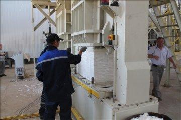 На новом заводе работу получили 150 сельчан.