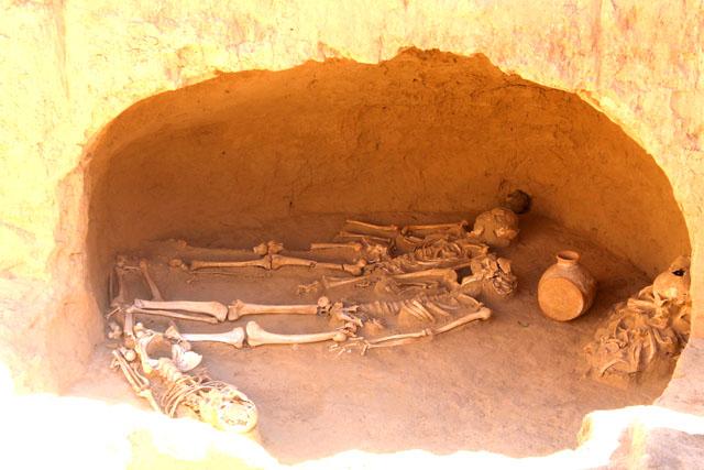 Работы на археологическом объекте не завершены - вскрыто только три кургана