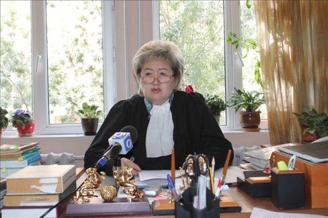 Шара Бийсимбаева, судья Аль-Фарабийского суда г. Шымкент