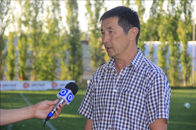 Нурлан Орынбаев, директор 7-ой спортивной школы по футболу