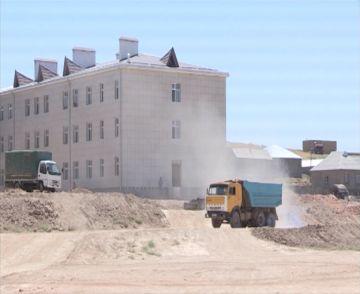 Строительство новой школы в мкр. Курсай
