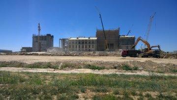 Будущее здание драматического театра
