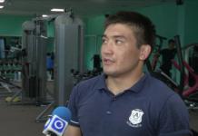Асхат Жамбиров, чемпион РК по греко-римской борьбе