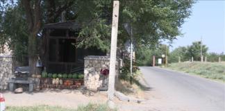 Христианское городское кладбище в Шымкенте