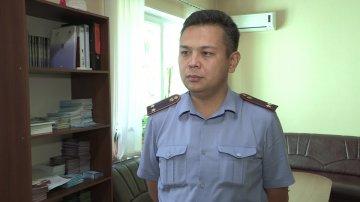 Заместитель начальника Управления миграционной полиции ЮКО Наурдаулет Тулегенов