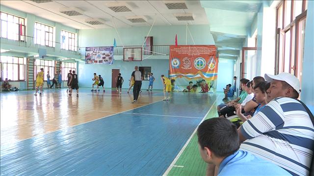 Республиканский турнир по баскетболу проходит в Шымкенте