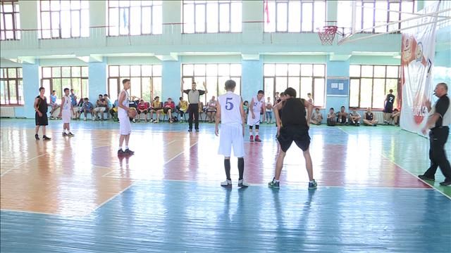 Баскетбол в Шымкенте