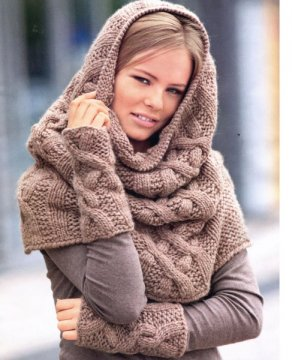 В наступающем холодном сезоне есть очень хорошая тенденция – горло, шея должны быть закрыты
