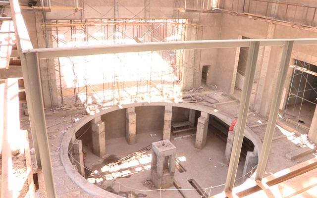 """Строительство нового театра на """"Нурсате"""" закончится к концу сентября"""