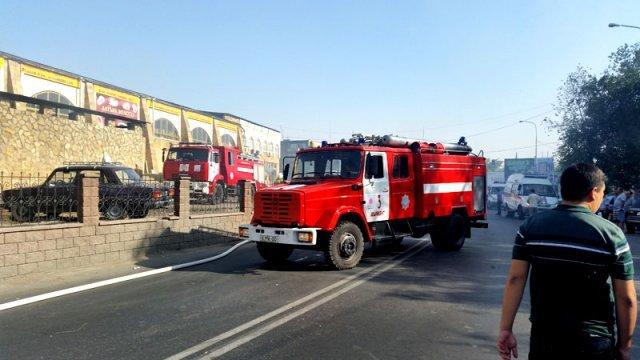 В тушение пожара было задействовано 9 единиц техники