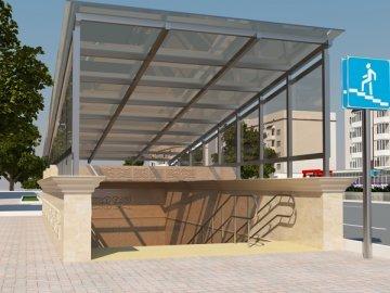 Проект подземного пешеходного перехода по проспекту Байдибек би обошелся бюджету в чуть более чем 66 миллионов тенге