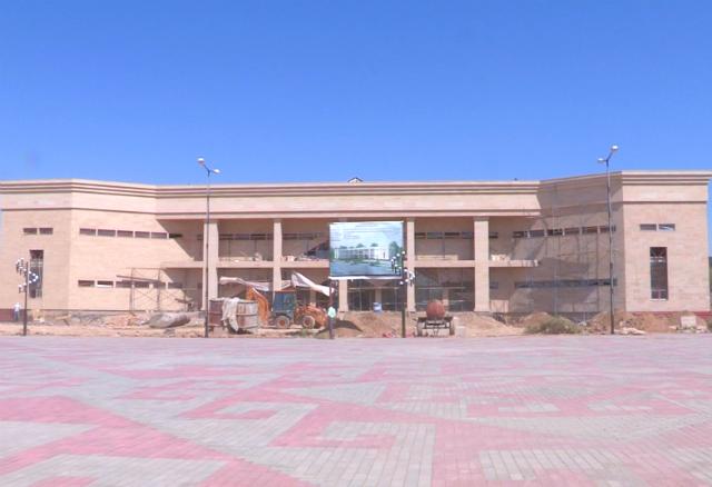 В Шымкенте заканчивают строительство двух новых музеев