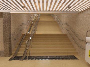 Стоимость комфортабельного пешеходного подземного перехода между торговым центром «Эмиль» и рынком «Комеш булак»
