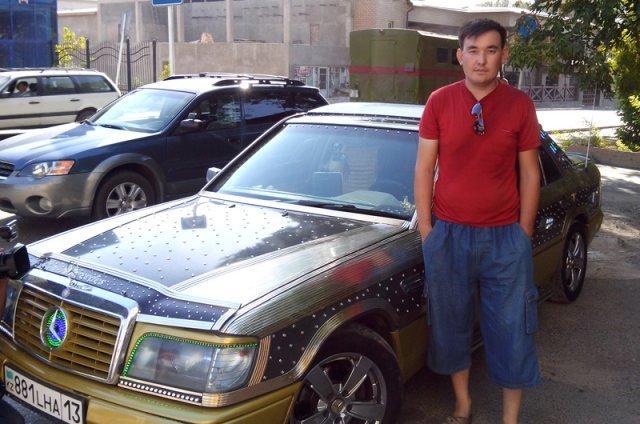 Владелец авто гордится своей работой