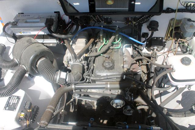 """Под капотом этого красавца бензиновый двигатель """"плита"""""""
