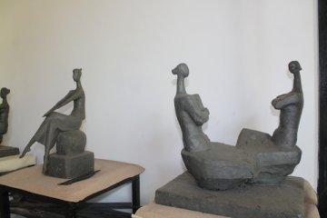 Мастерская скульптора Насыра Рустемова