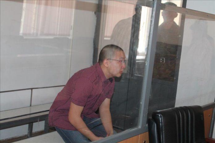 Убийца учительницы Тимур Ким
