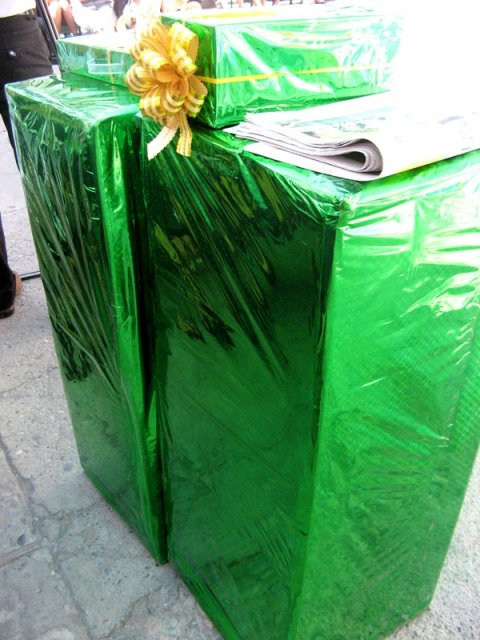Без подарков не осталась ни одна конкурсантка