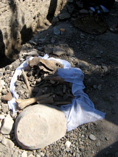 Найденные предметы быта, орудия труда, керамические кувшины и посуду археологи зафиксируют, опишут и передадут в историко-краеведческий музей