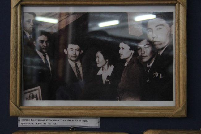 В историко-краеведческом музее открылась выставка в рамках ретрофестиваля имени Шамши Калдаякова