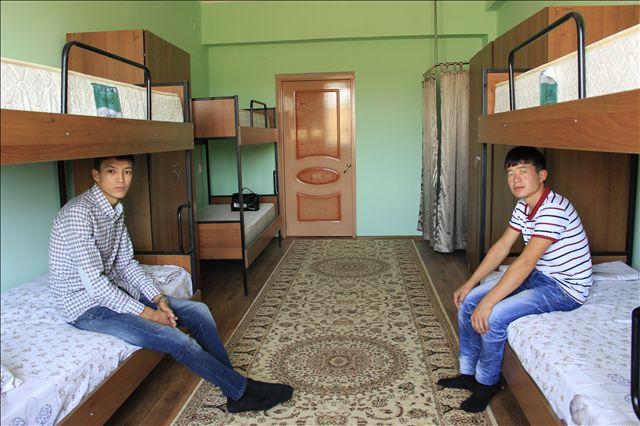 С начала года, комфортные условия проживания оценили уже более 50 человек, еще 70 подали заявки, на новый учебный год