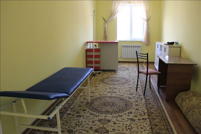 Есть оборудованный медицинский кабинет