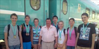 Победители и призеры чемпионата Казахстана по пулевой стрельбе.