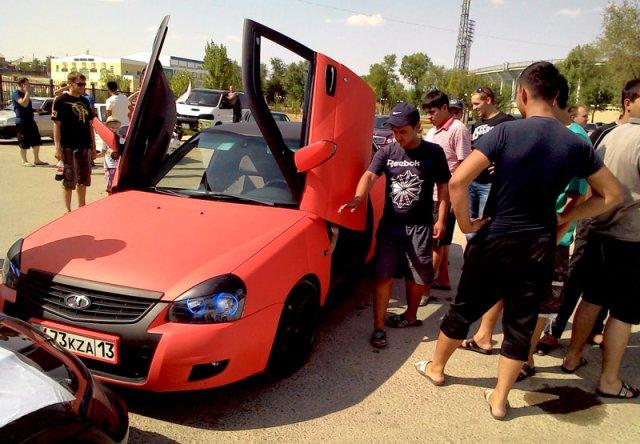 Впервые в Шымкенте состоялся слет авто- и мотоклубов