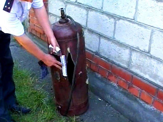 Молодая девушка пострадала при взрыве газового баллона в Сайраме