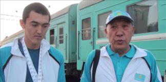 Азизбек Туракулов о своим тренером