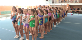 Открытие первенства СДЮСШОР по спортивной гимнастики