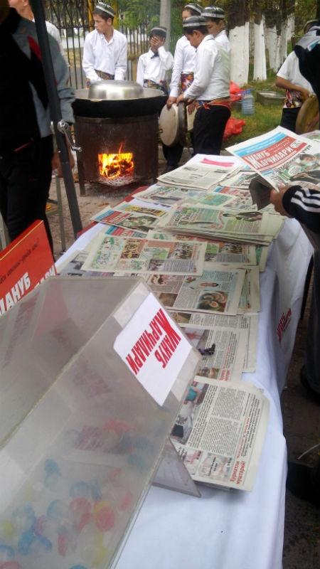 Каждый, кто оформил подписку на газету принял участие в беспроигрышной лотереи