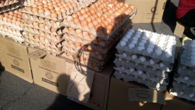 Цены на яйца горожан удивили, от 10 до 18 тенге за штуку