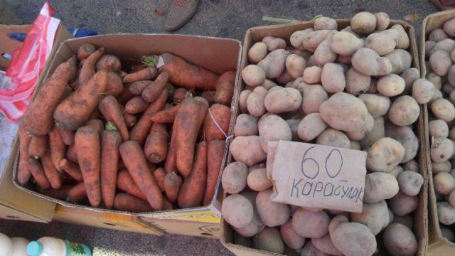 Цены на морковь снизились со 100 тенге до 70 тенге за килограмм