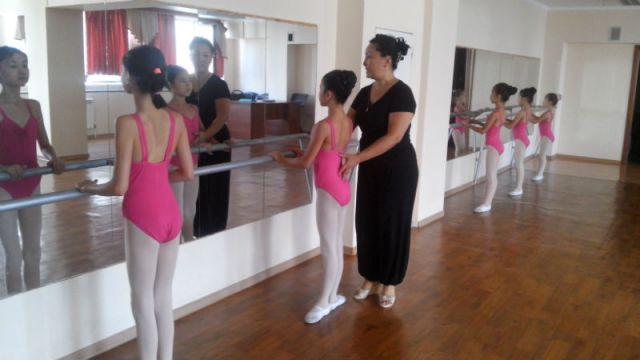 В Шымкенте открылась балетная студия