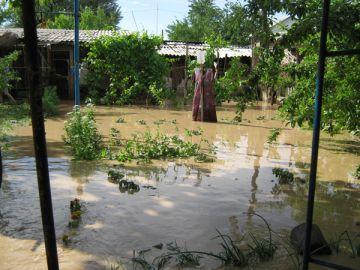 Затоп в Турланке. Май 2014 года