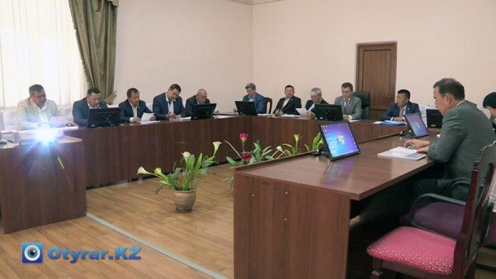 Постоянная комиссия маслихата г. Шымкента